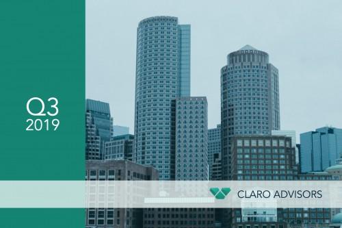 Claro Quarterly Newsletter Q3 2019